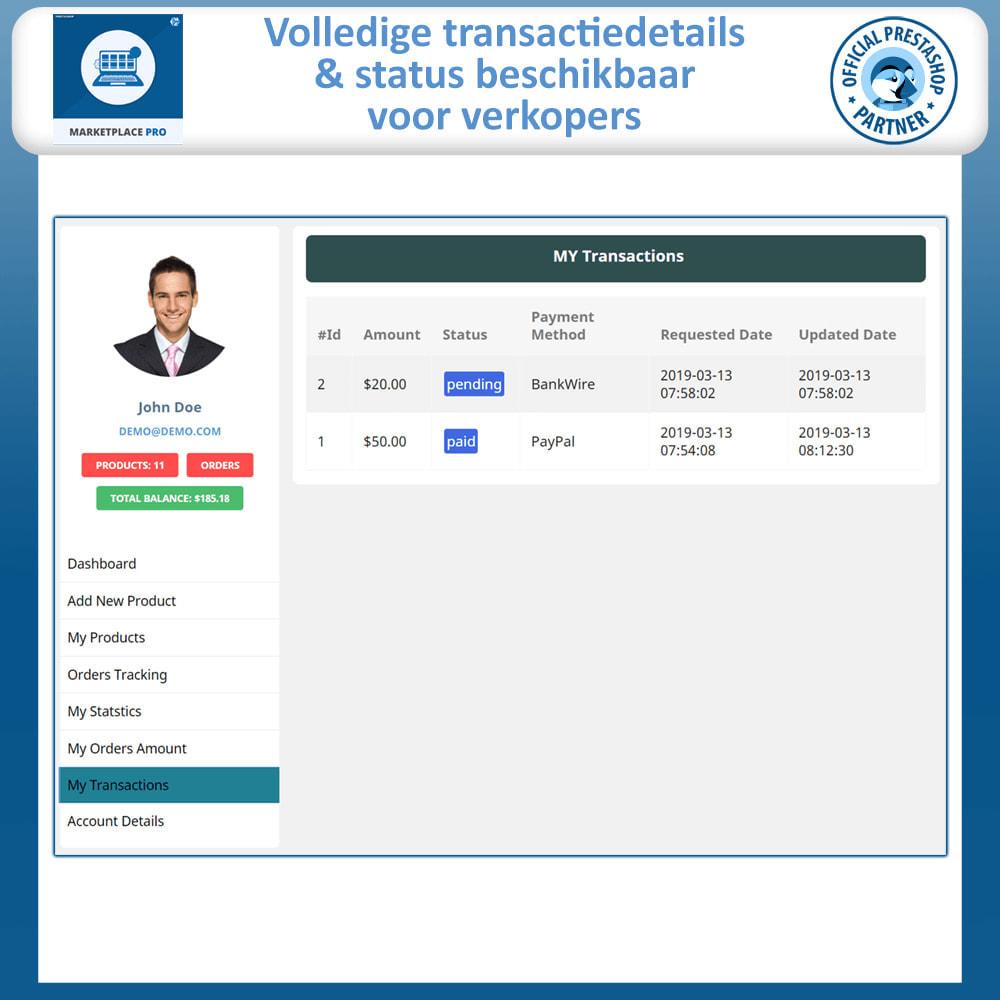 module - Marktplaats opzetten - Multi Vendor Marketplace  - Marketplace Pro - 17