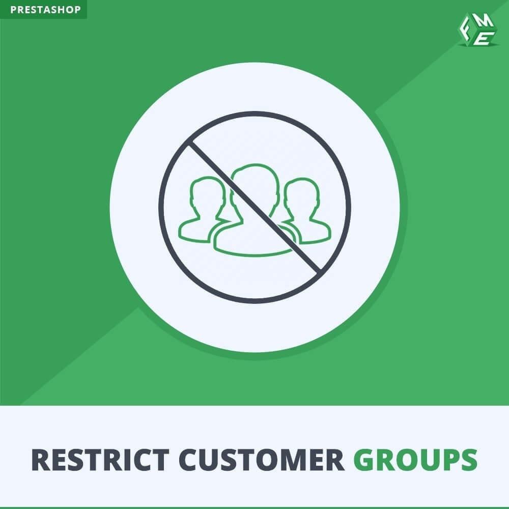 module - Information supplémentaire & Onglet produit - Restreindre par Groupe de Clients - Catalogue et CMS - 1