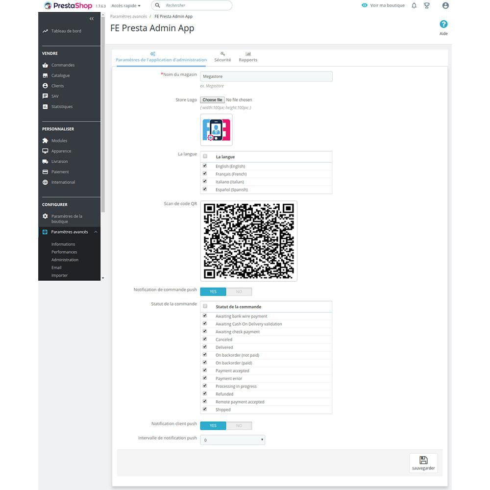 module - Mobile - FE Presta Admin App - admin de magasin facile à gérer - 9
