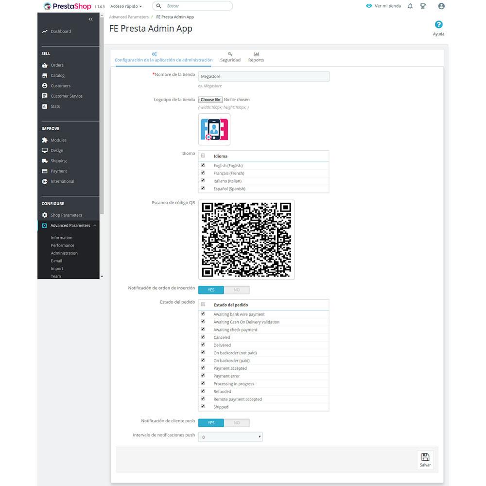 module - Dispositivos móviles - FE Presta Admin App - fácil a gestionar Tienda admin - 10