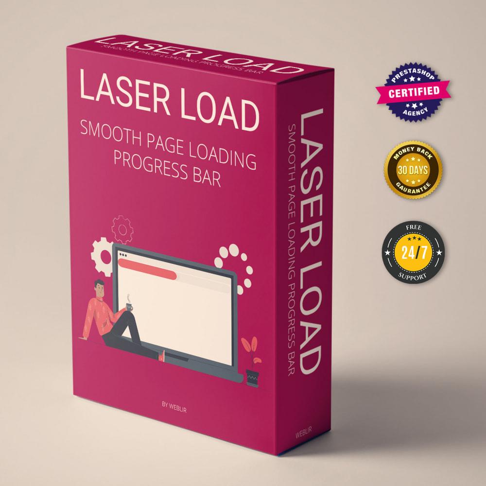 module - Rendimiento del sitio web - Laser Load - Smooth page loading progress bar - 1