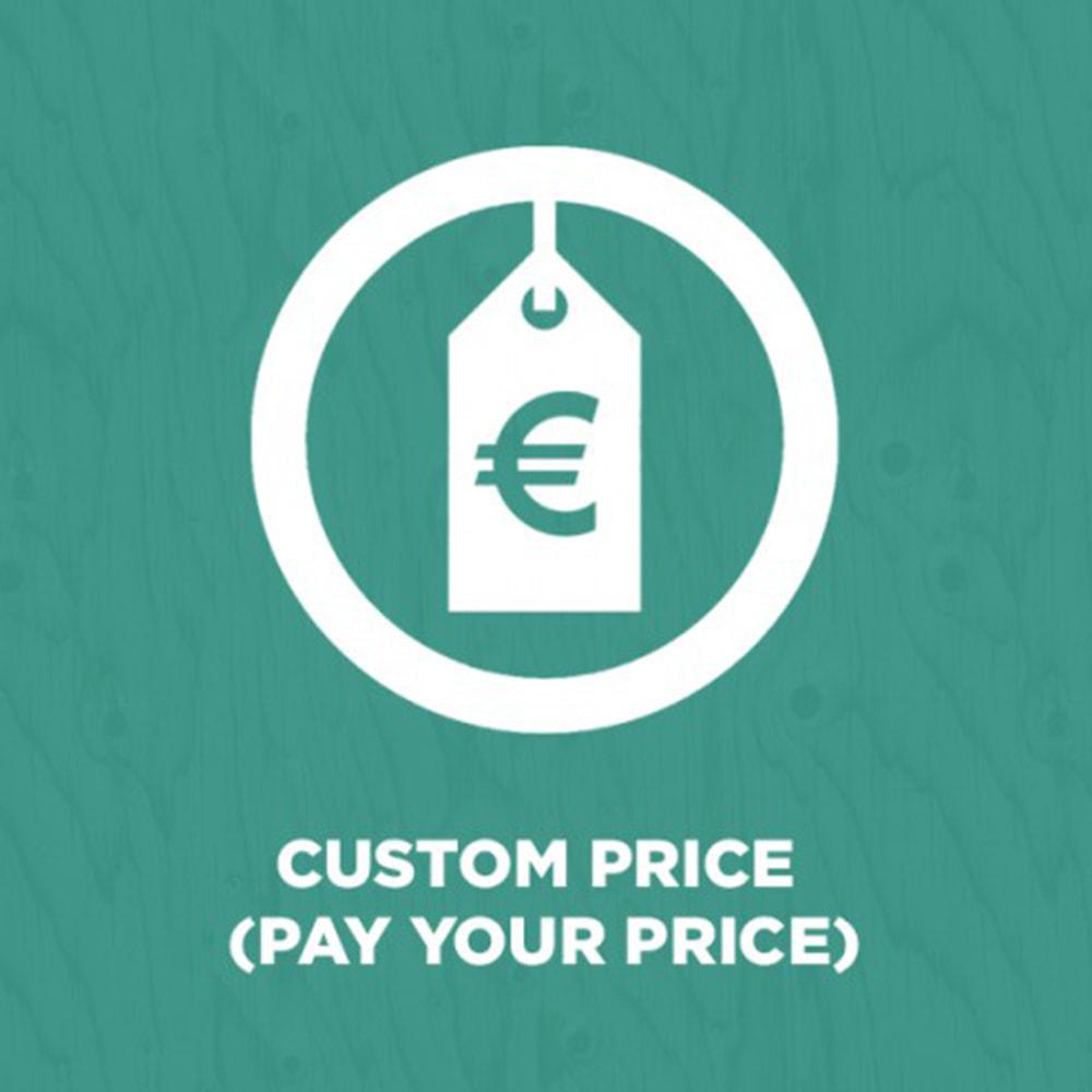 module - Управление ценами - Custom Price (Pay Your Price) - 1