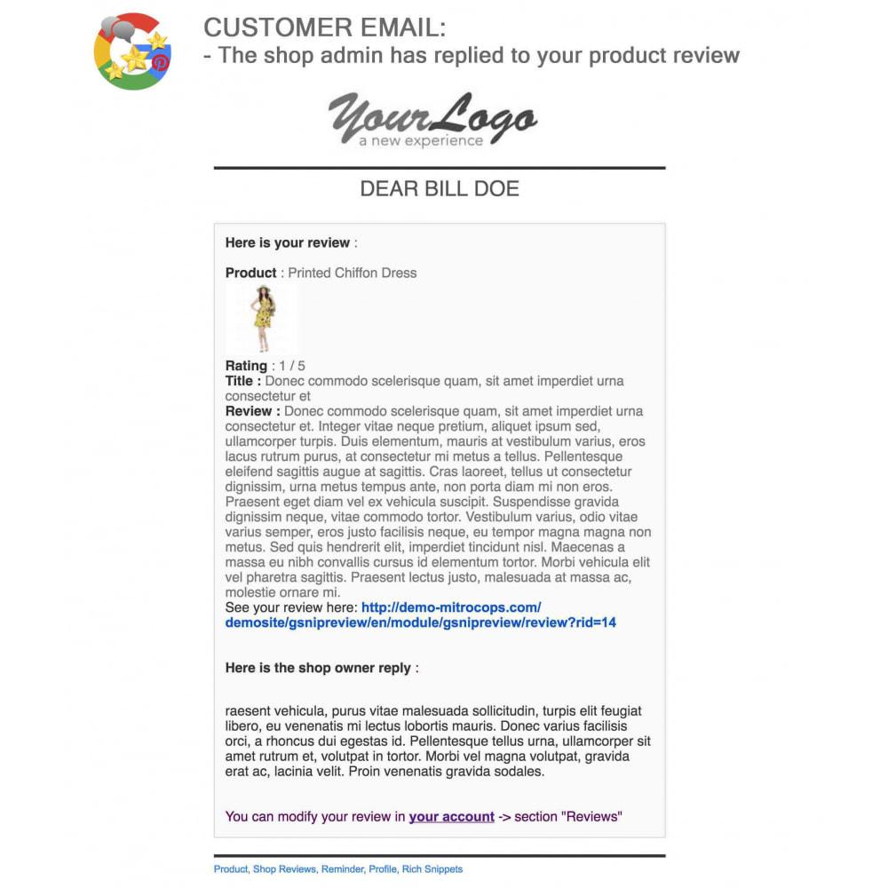 module - Avis clients - Produit+Boutique Avis, Points fidélité, Google Snippets - 62