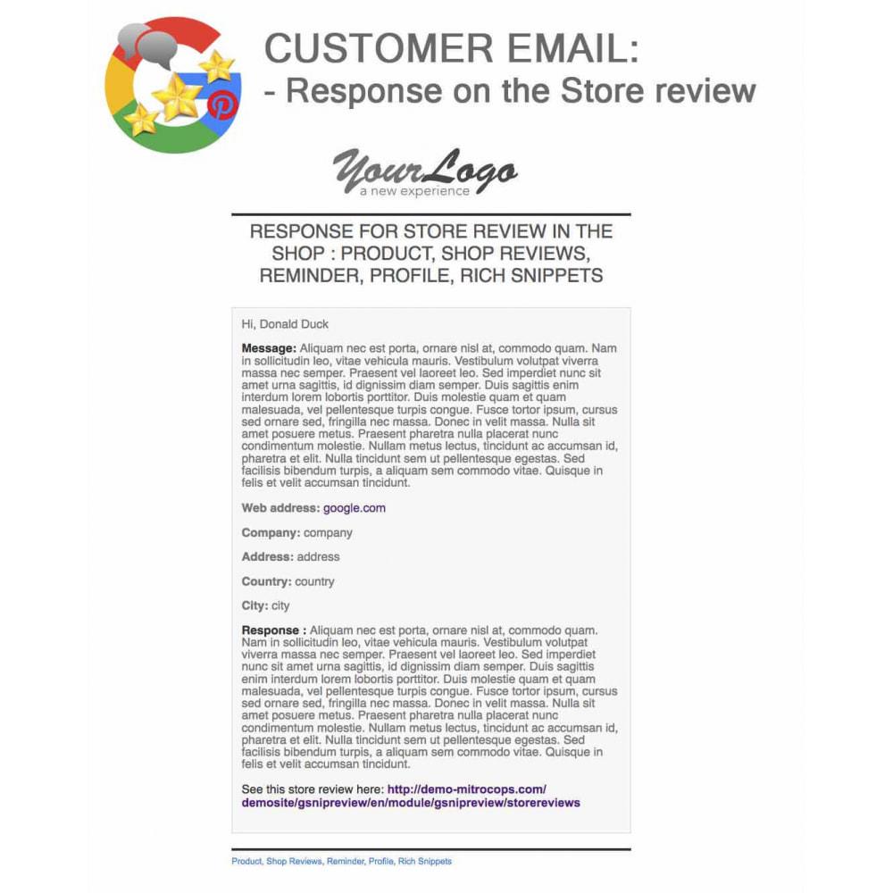 module - Avis clients - Produit+Boutique Avis, Points fidélité, Google Snippets - 69