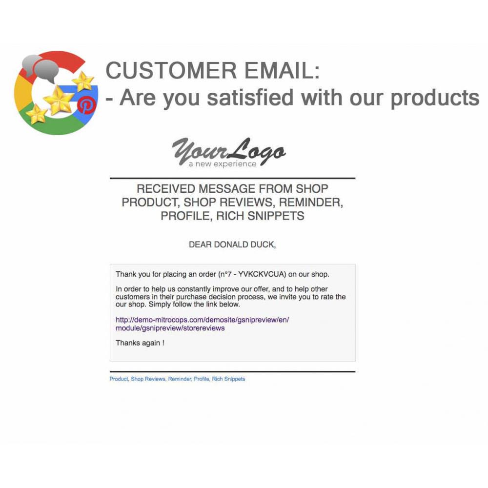 module - Avis clients - Produit+Boutique Avis, Points fidélité, Google Snippets - 70