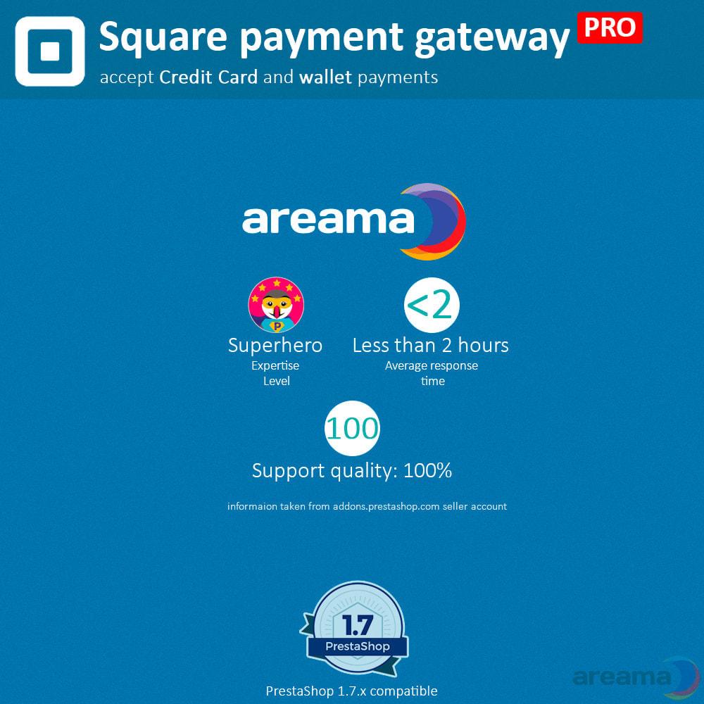 module - Paiement par Carte ou Wallet - Square Payment Gateway PRO - Card and Wallet payments - 5