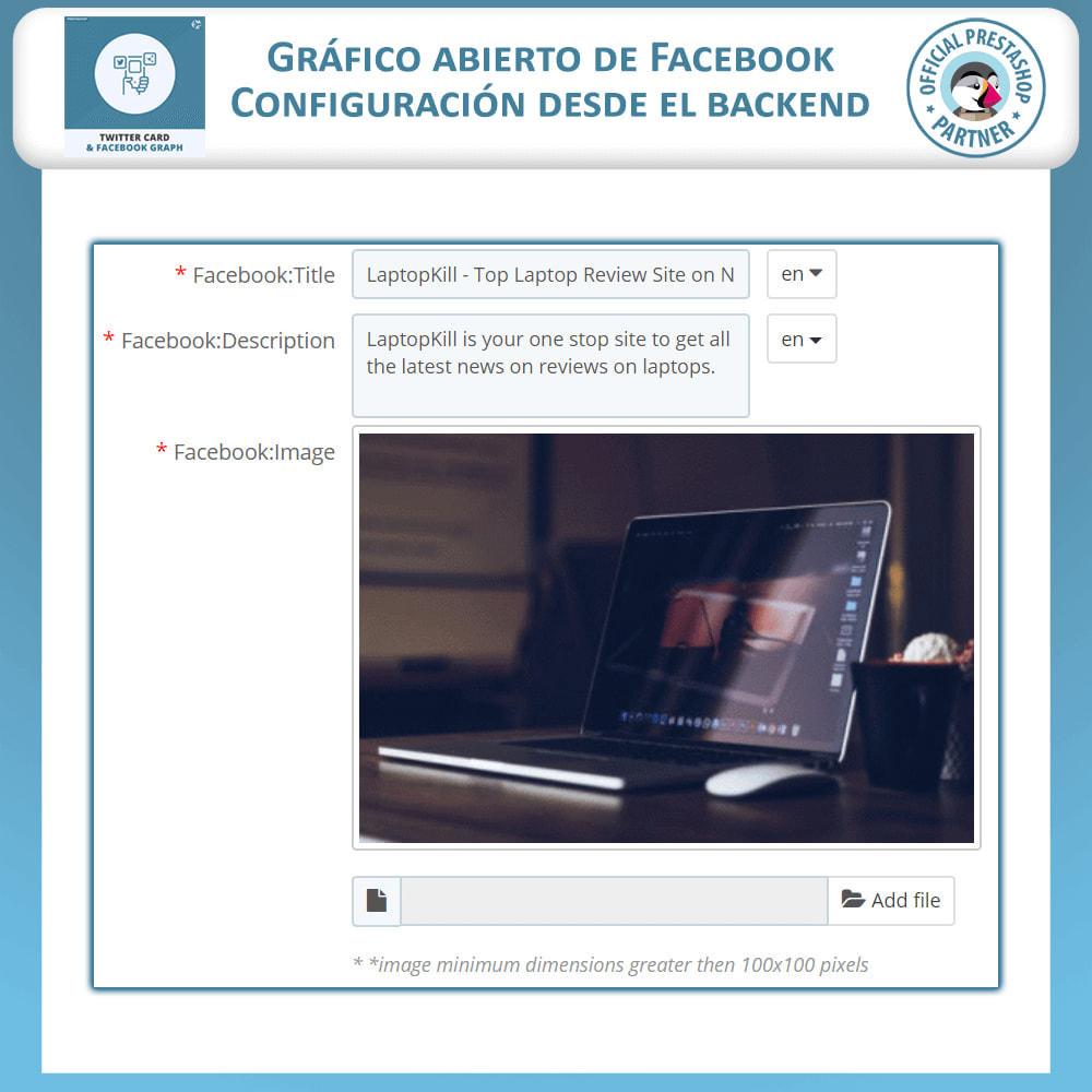 module - Widgets para redes sociales - Gráficos de Redes Sociales y Tarjetas de Twitter - 4