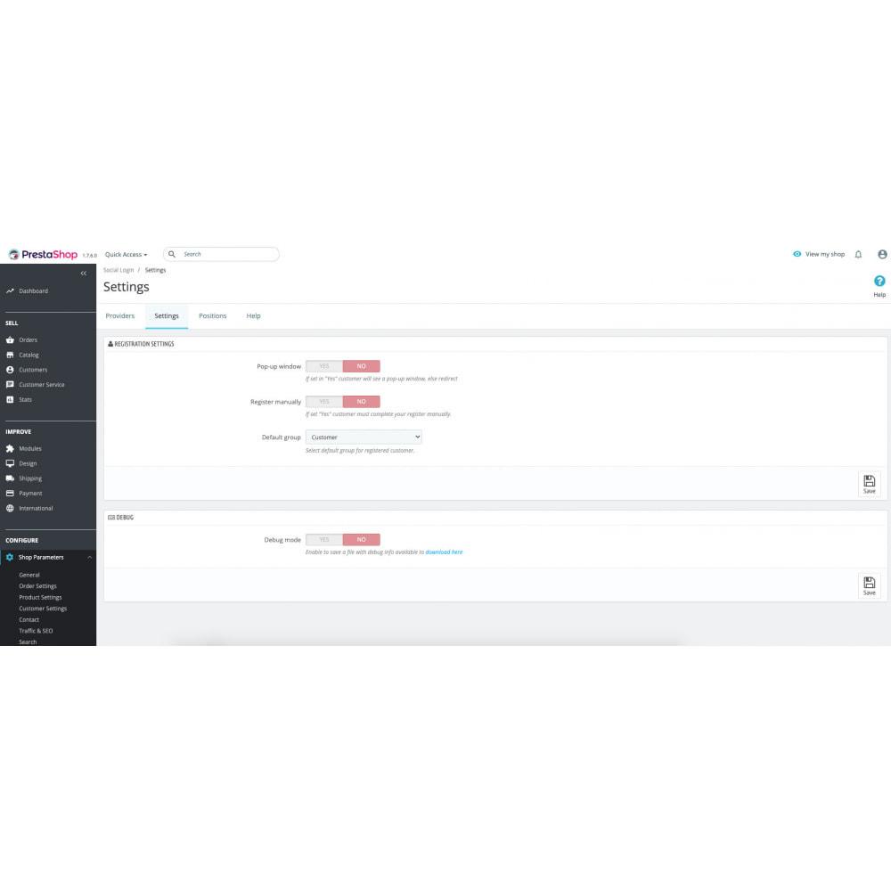 module - Social Login & Connect - Social Login Authentication - 16