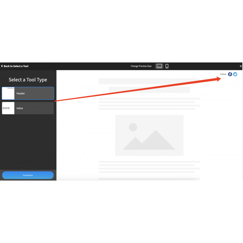 module - Widgets para redes sociales - Advanced Social Media Share Side Bar Links Buttons - 5
