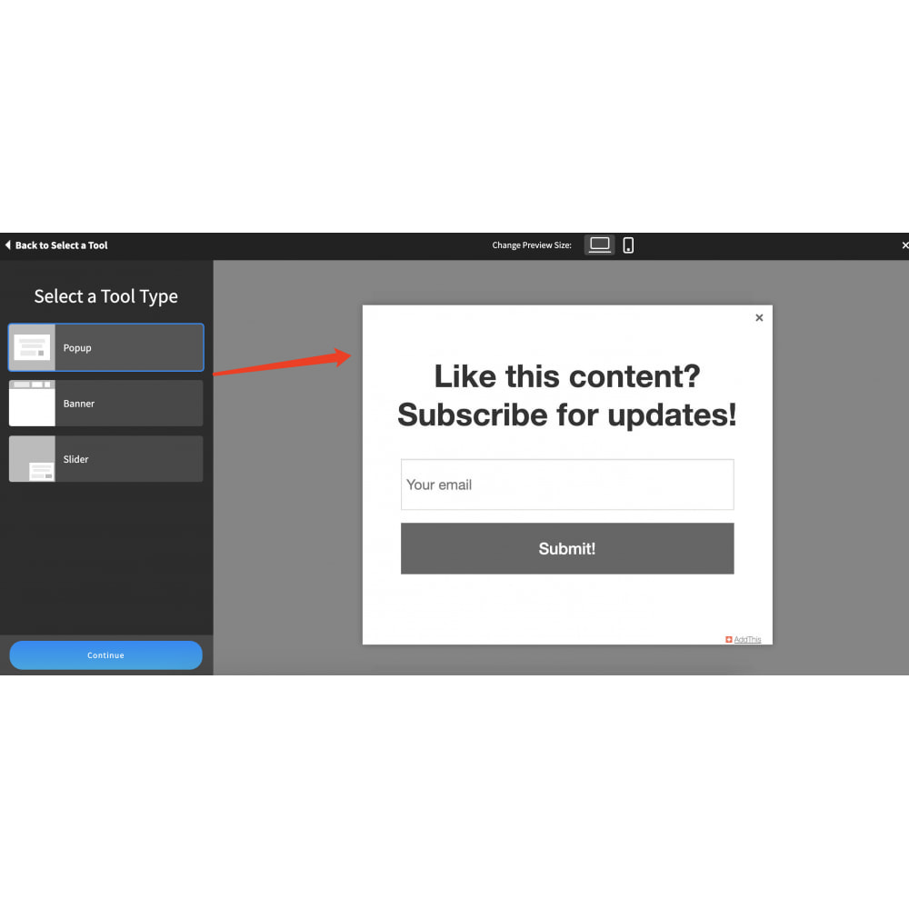 module - Widgets para redes sociales - Advanced Social Media Share Side Bar Links Buttons - 7