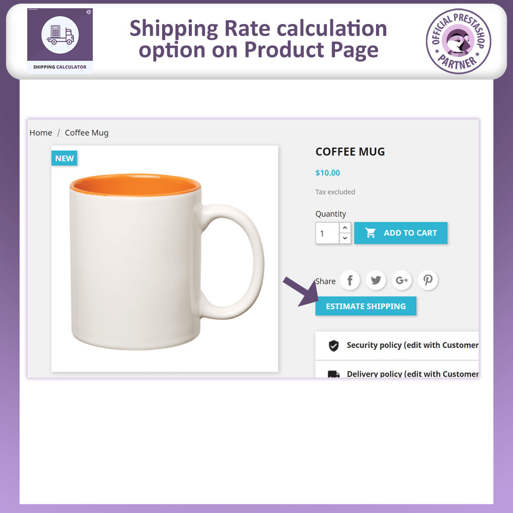 module - Shipping Costs - Shipping Rate Calculator - 2
