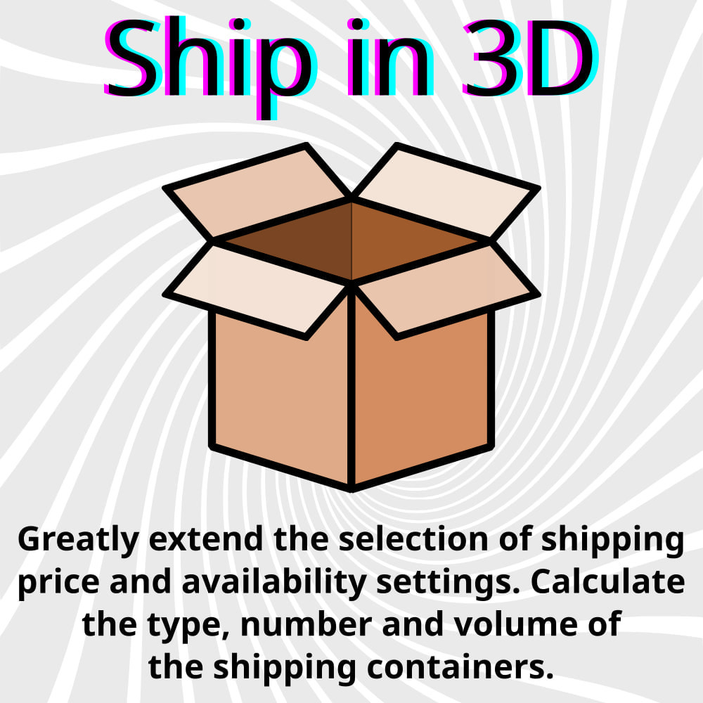 module - Shipping Carriers - Ship in 3D - 1