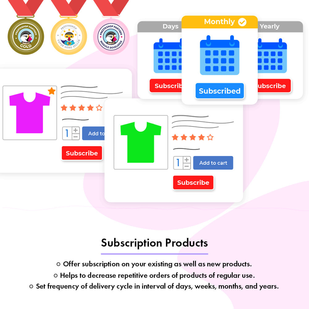 module - Terugkerende betaling (abonnement) - Subscription Products | Recurring Payments - 1