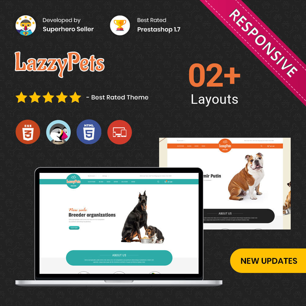 theme - Animals & Pets - lazzypets - The Animal Store - 1