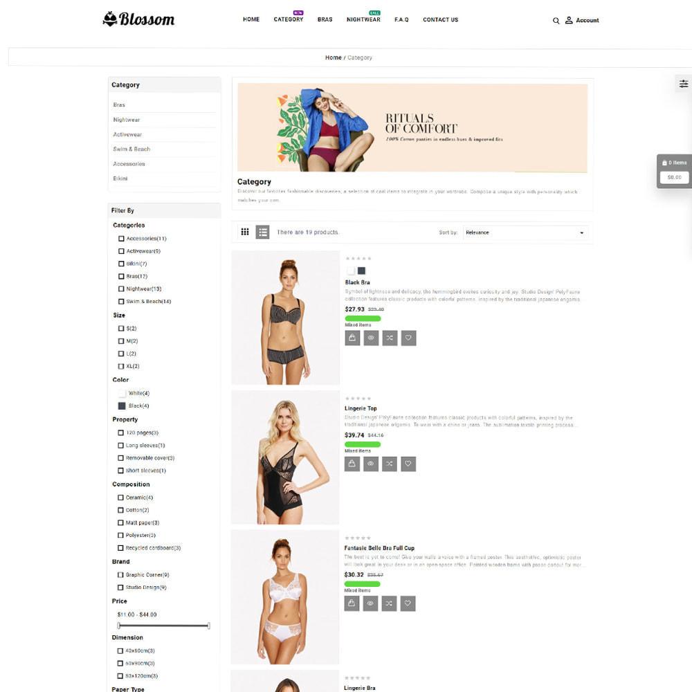 theme - Lingerie & Adultos - Blossom Lingerie Store - 4
