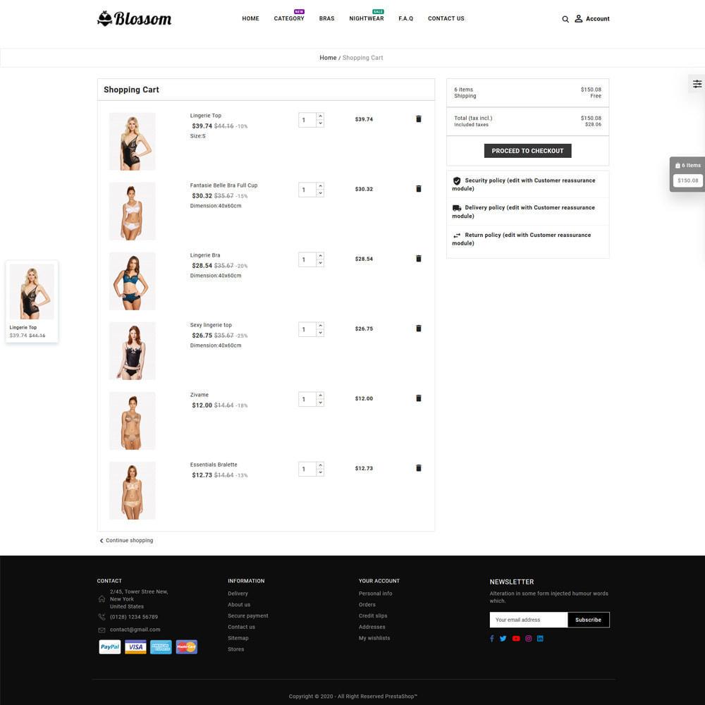 theme - Lingerie & Adultos - Blossom Lingerie Store - 6