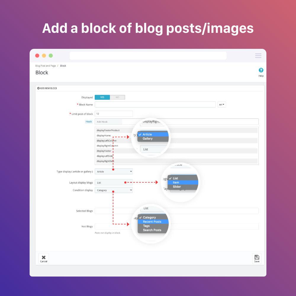 module - Blog, Forum & Actualités - Blog professional - Wordpress UI - 2