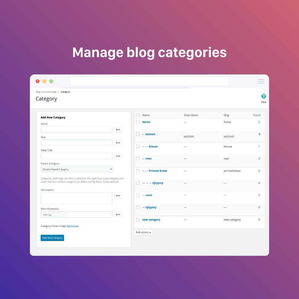 module - Blog, Forum & Actualités - Blog professional - Wordpress UI - 5