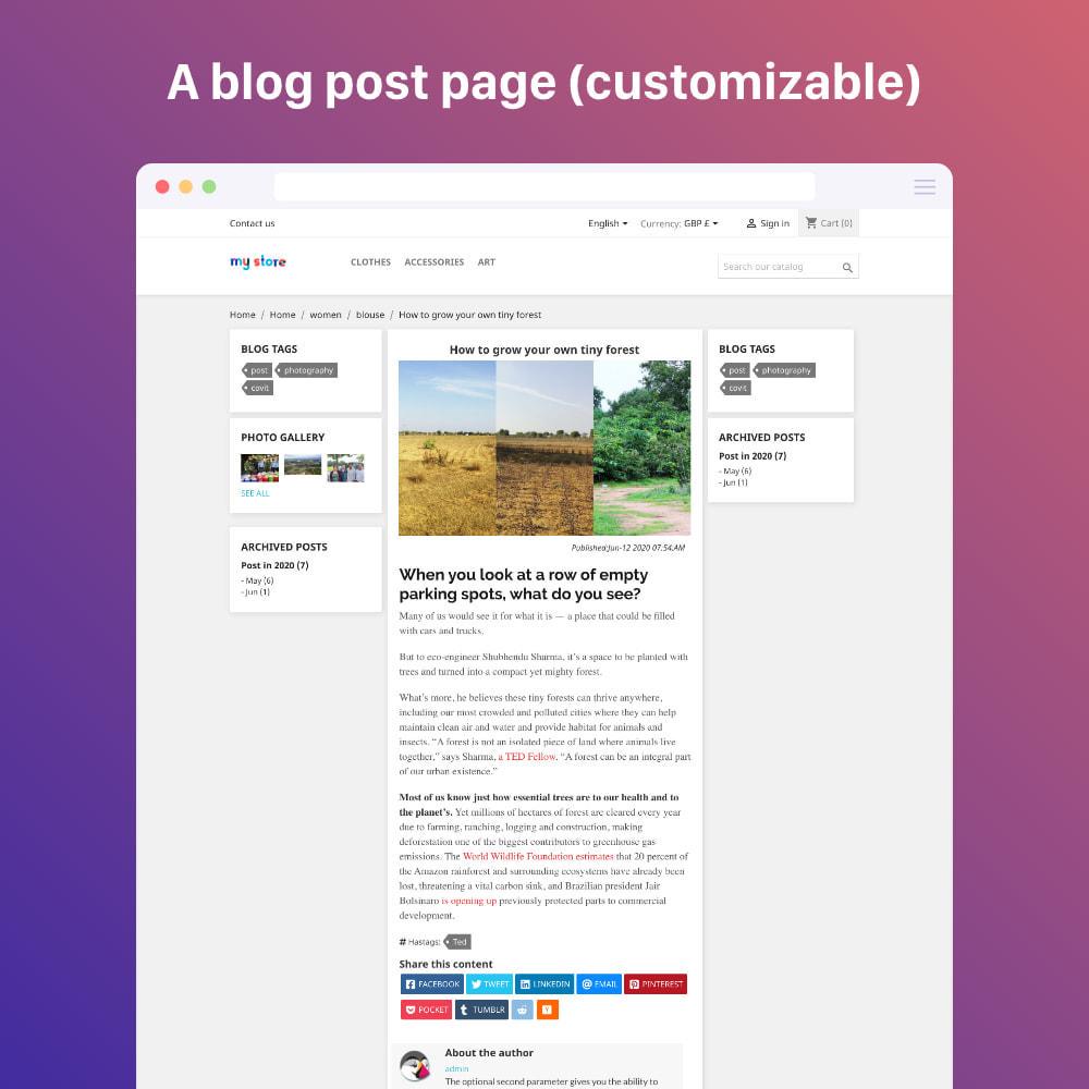 module - Blog, Forum & Actualités - Blog professional - Wordpress UI - 9