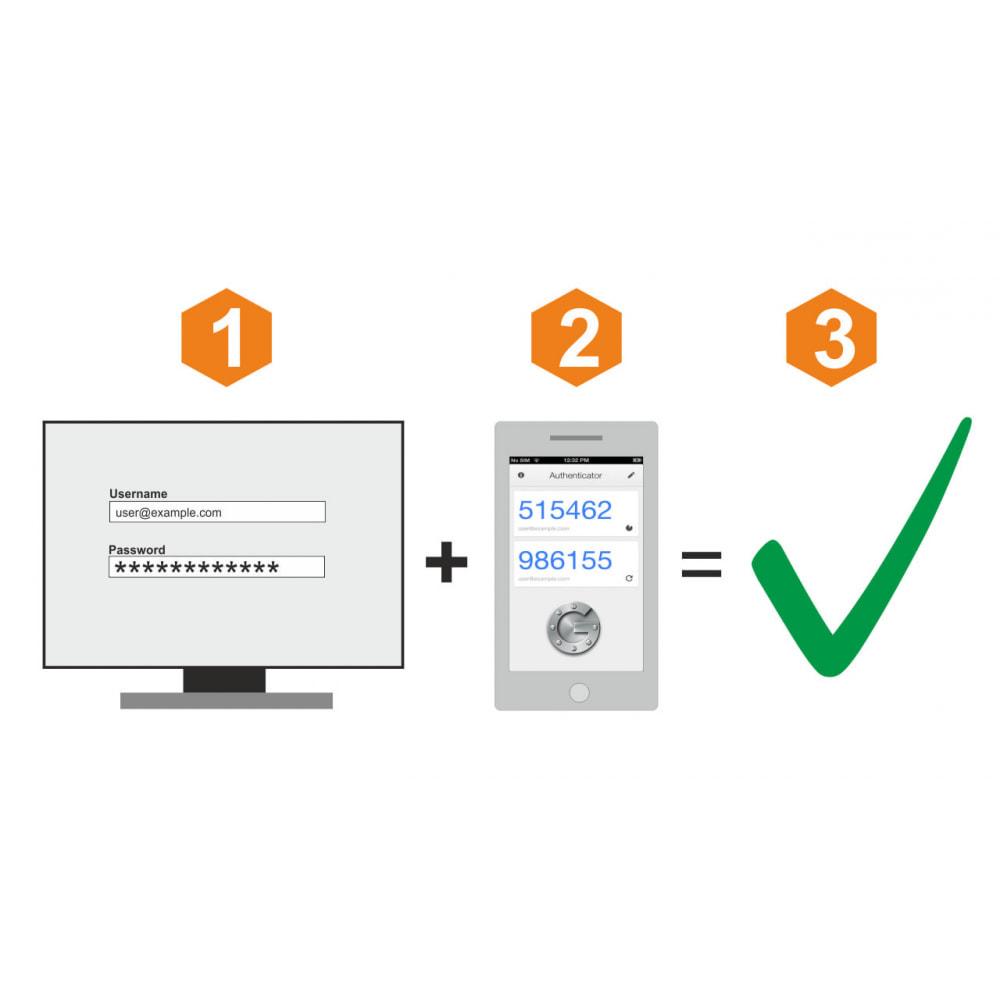 module - Bezpieczeństwa & Dostępu - Google Two-factor Authenticator For Back Office - 1