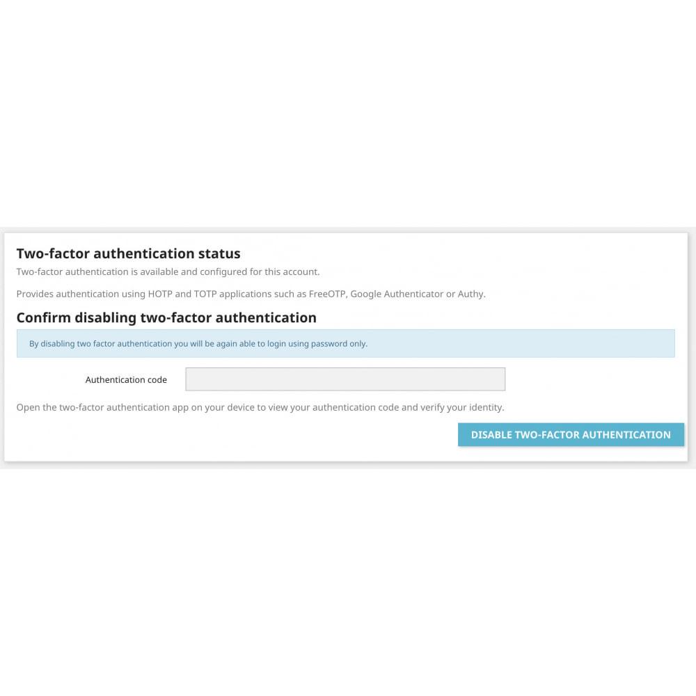 module - Sécurité & Accès - Google Two-factor Authenticator For Front Office - 8