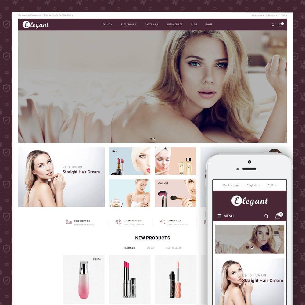 theme - Health & Beauty - Elegant - Cosmetic Store - 1