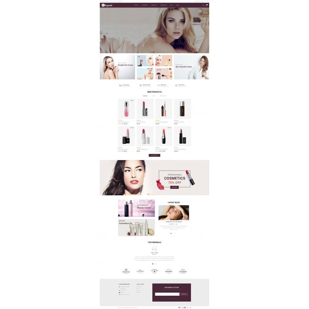 theme - Health & Beauty - Elegant - Cosmetic Store - 2