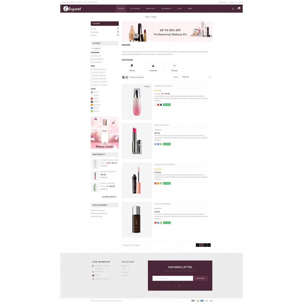 theme - Health & Beauty - Elegant - Cosmetic Store - 4