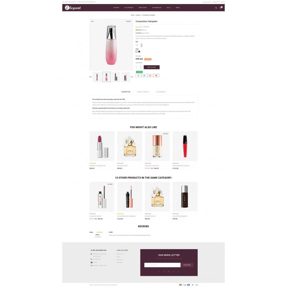 theme - Health & Beauty - Elegant - Cosmetic Store - 5