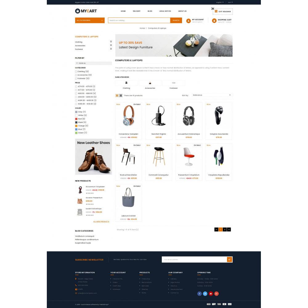theme - Electronics & Computers - MyCart - Online Mega Store - 3