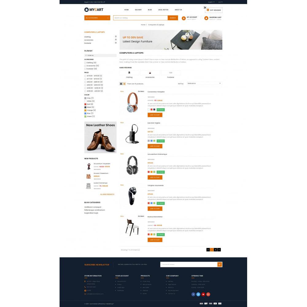 theme - Electronics & Computers - MyCart - Online Mega Store - 4