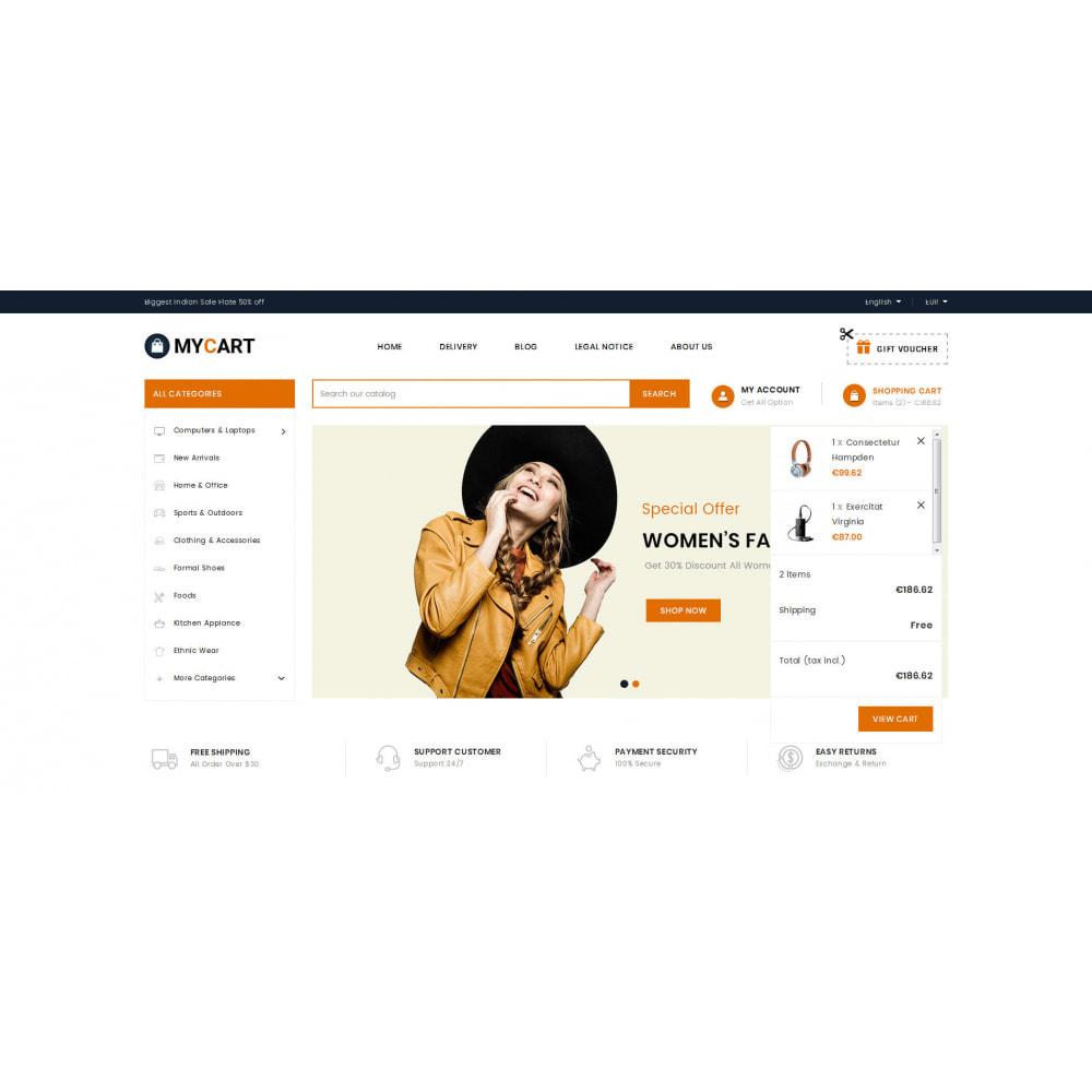 theme - Electronics & Computers - MyCart - Online Mega Store - 8