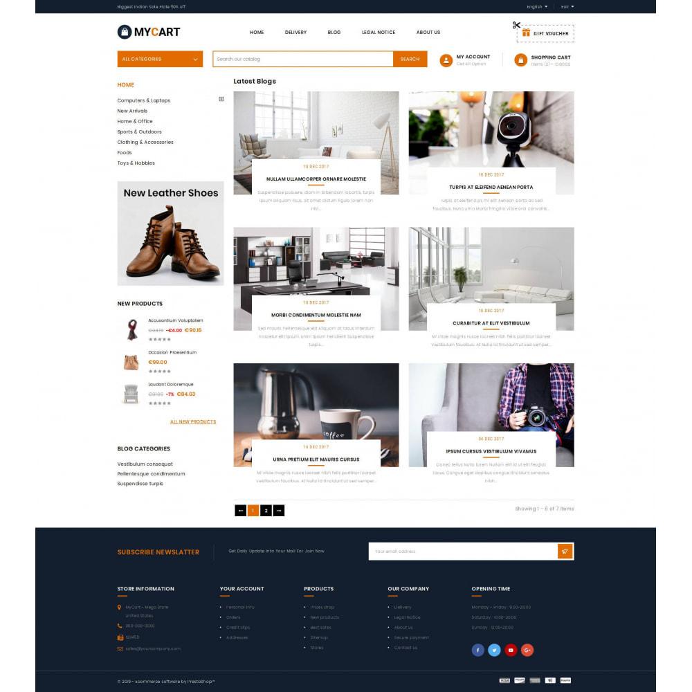 theme - Electronics & Computers - MyCart - Online Mega Store - 9