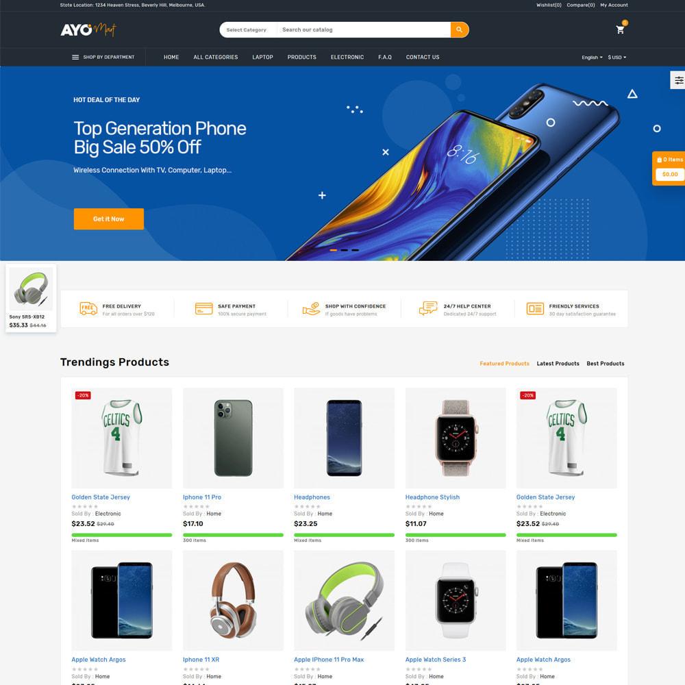 theme - Eletrônicos & High Tech - Ayo Mart Store - 2