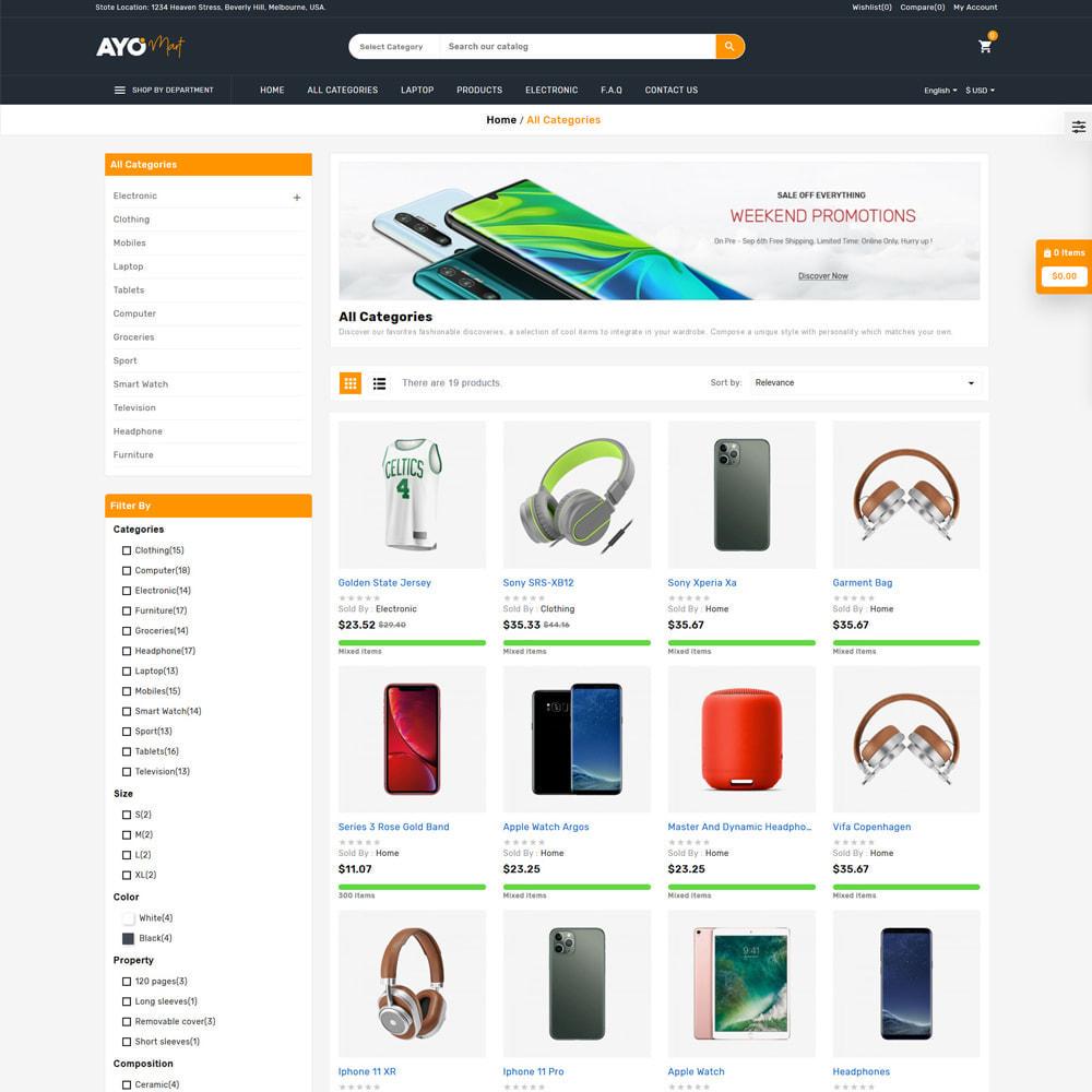theme - Eletrônicos & High Tech - Ayo Mart Store - 3