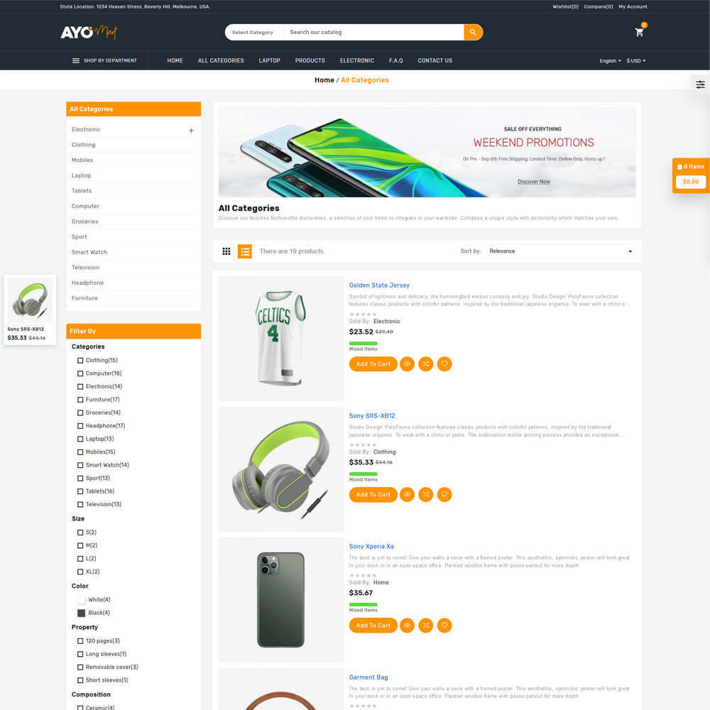 theme - Eletrônicos & High Tech - Ayo Mart Store - 4