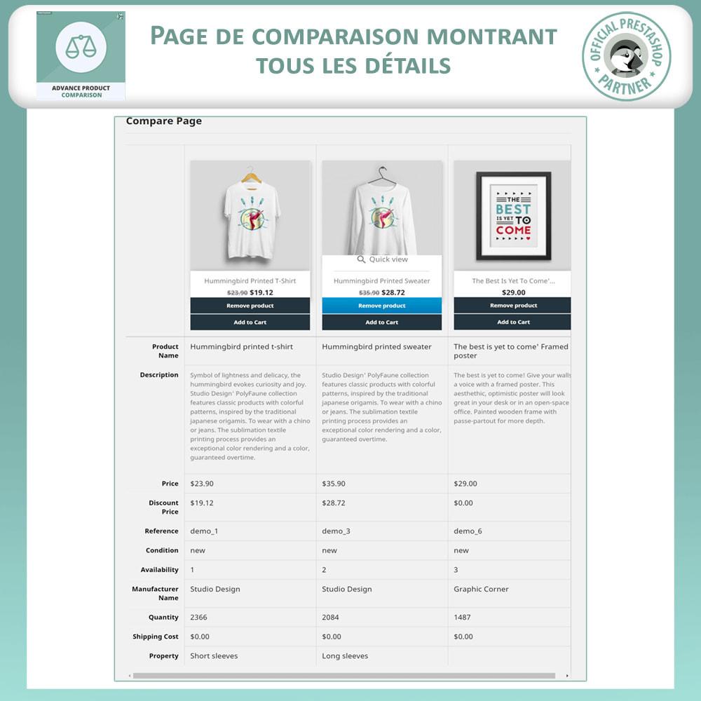 module - Comparateurs de prix - Comparaison Avancée Des Produits - 5