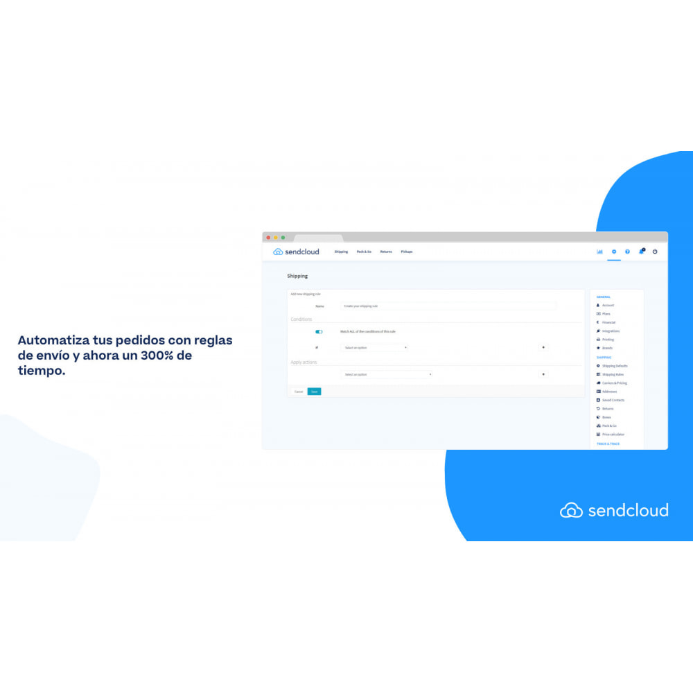 module - Transportistas - Sendcloud | Solución N°1 de envíos para Ecommerce - 1