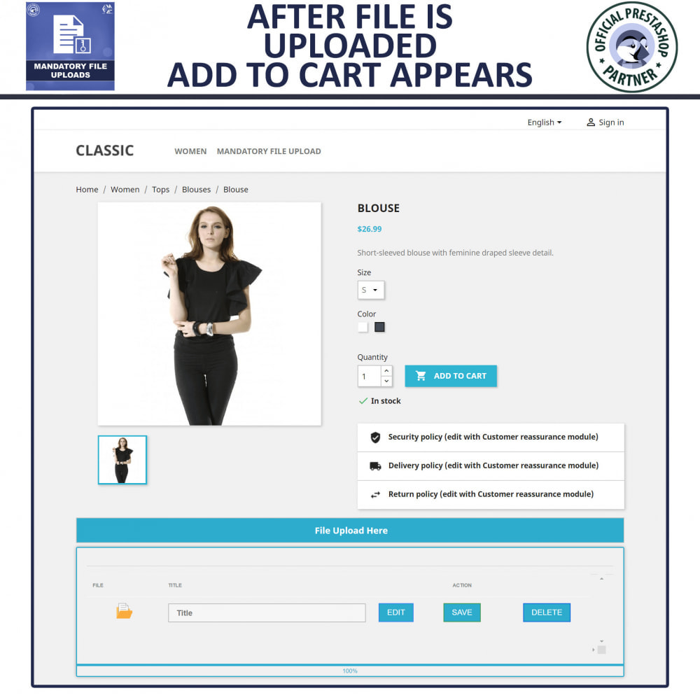 module - Informação Adicional & Aba de Produto - Mandatory File Upload - 4