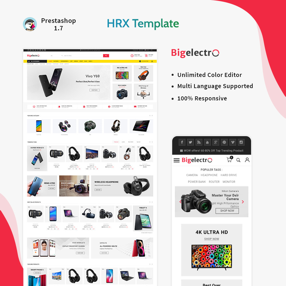 theme - Электроника и компьютеры - Big Electro – Electronic Mega Shop - 1