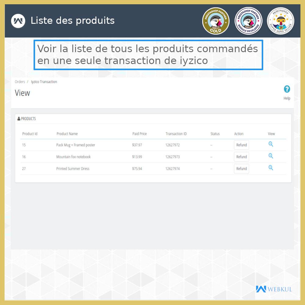 module - Paiement par Carte ou Wallet - Passerelle de paiement Iyzico - 7