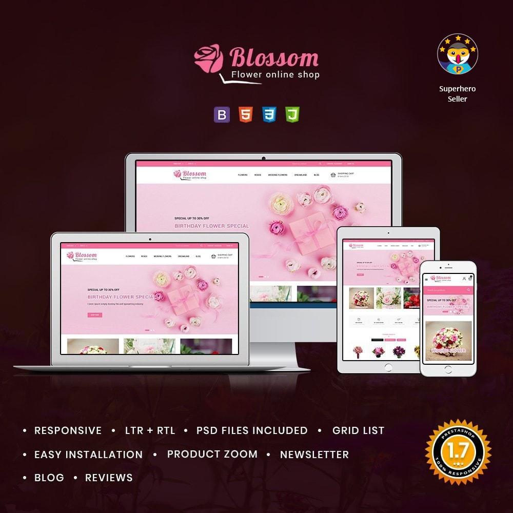 theme - Подарки, Цветы и праздничные товары - Blossom Flowers & Gifts Shop - 1