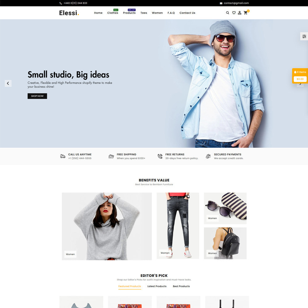 theme - Mode & Schoenen - Elessi Fashion Store - 2