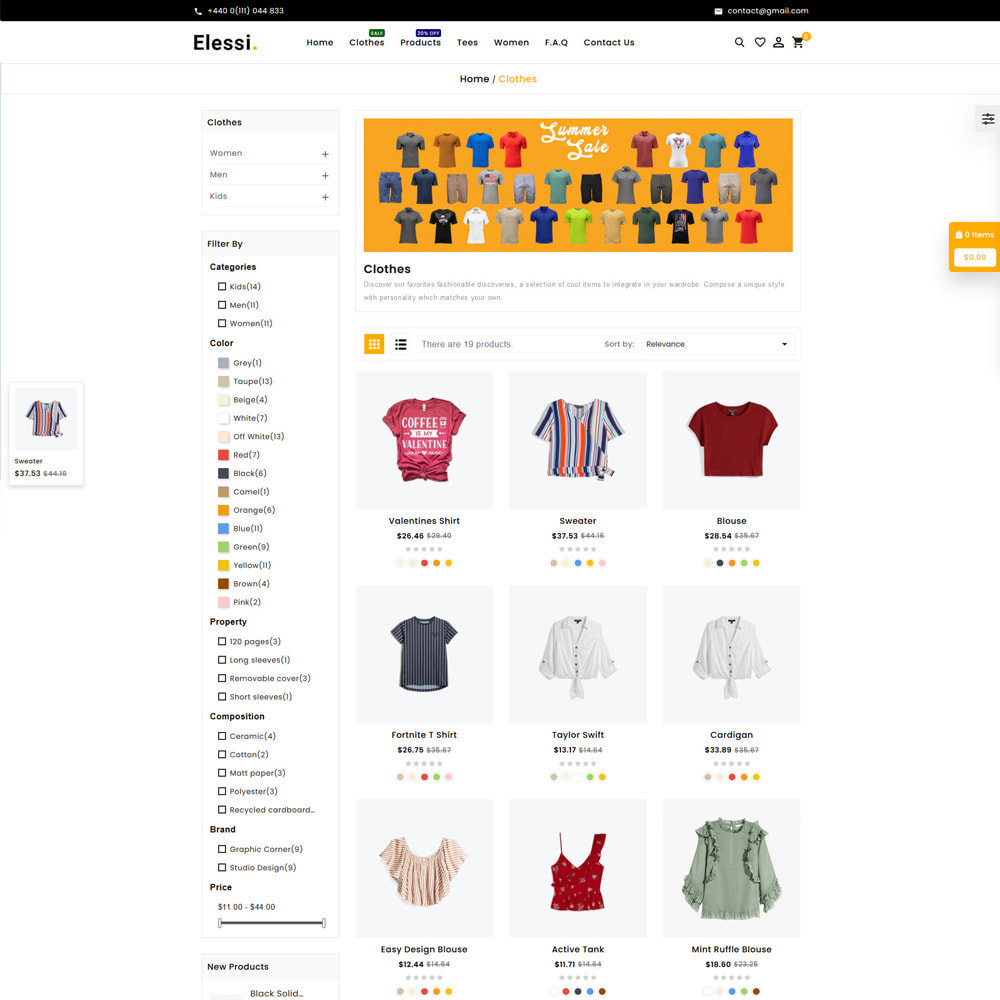 theme - Mode & Schoenen - Elessi Fashion Store - 3