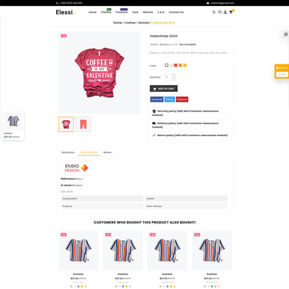 theme - Mode & Schoenen - Elessi Fashion Store - 5