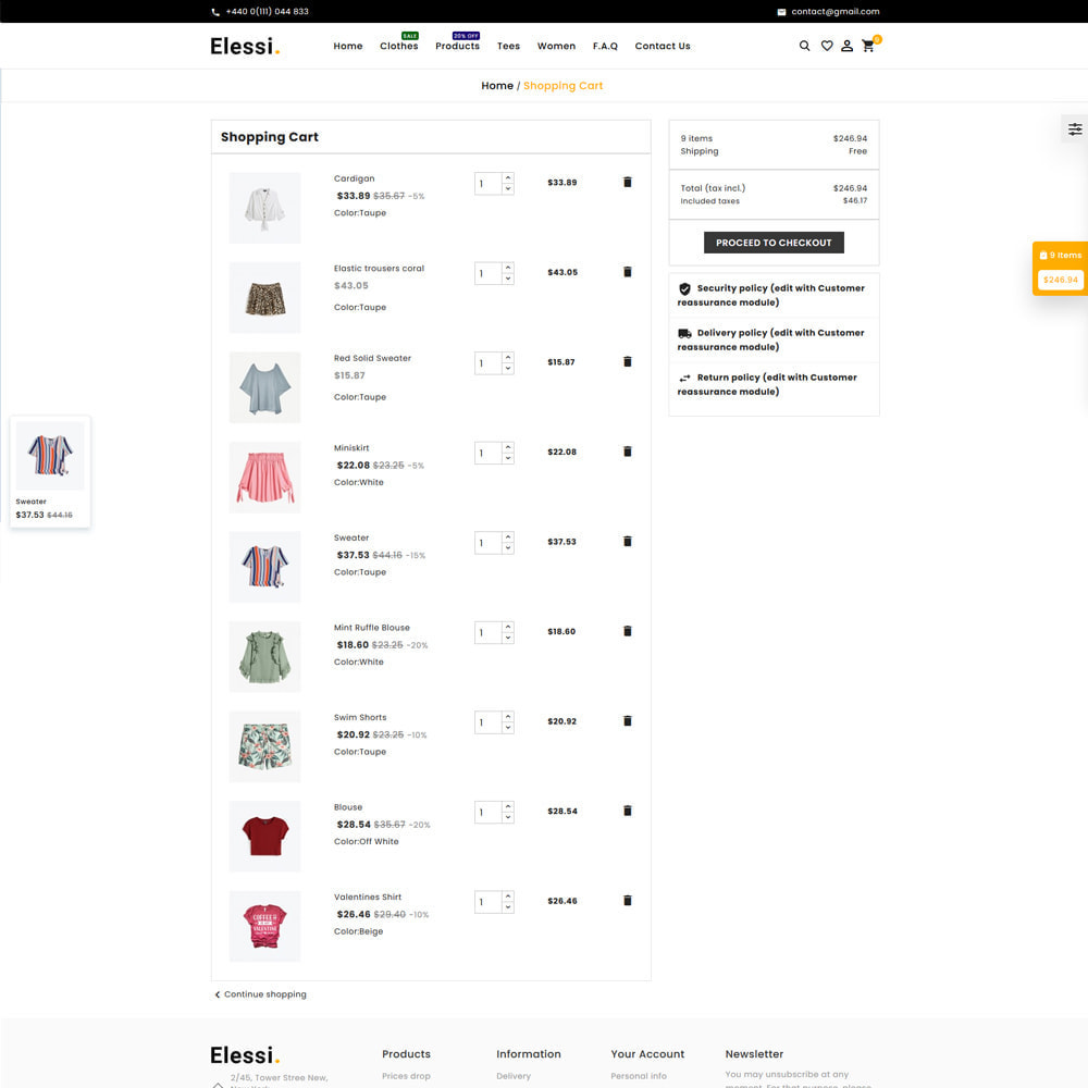 theme - Mode & Schoenen - Elessi Fashion Store - 6