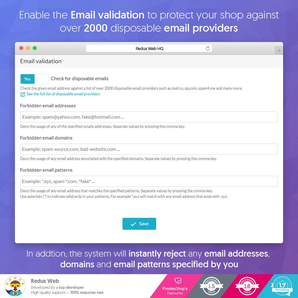 module - Security & Access - Advanced Google Re-Captcha Anti Spam & Fake Accounts - 5