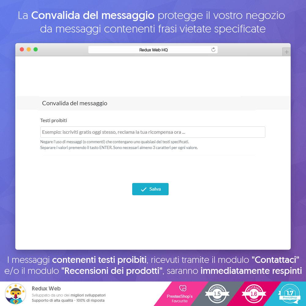 module - Security & Access - Avanzato Google Re-Captcha Anti Spam & Conti Falsi - 6