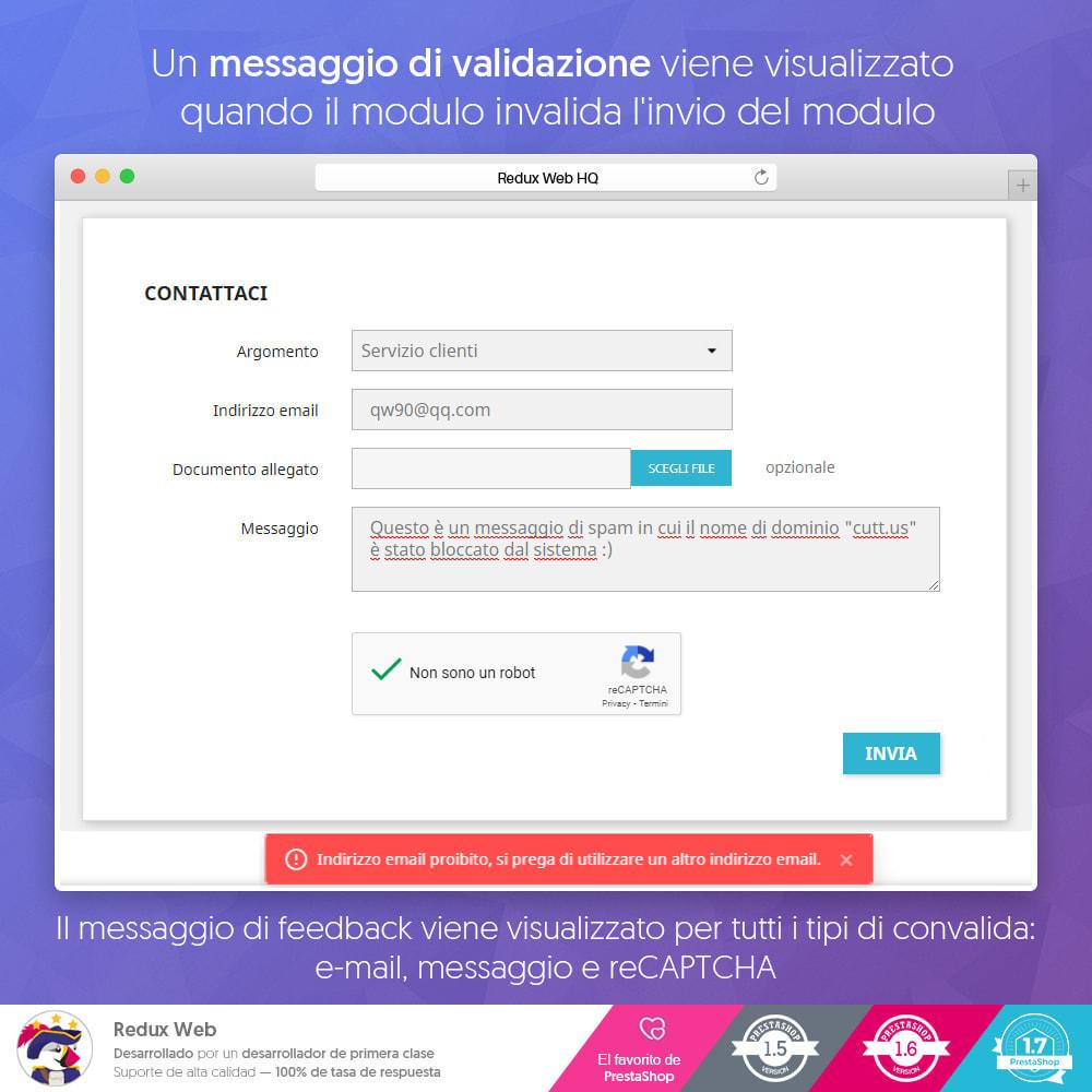 module - Security & Access - Avanzato Google Re-Captcha Anti Spam & Conti Falsi - 10