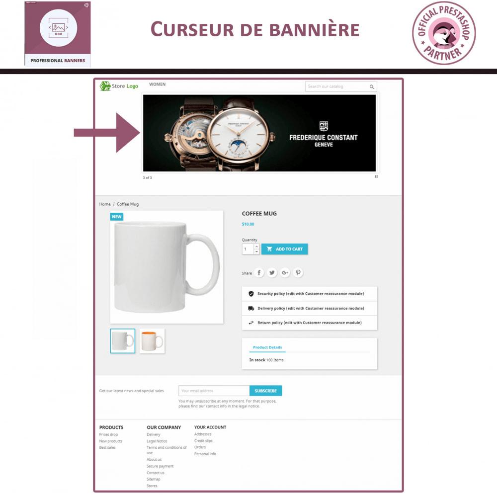 module - Sliders & Galeries - bannière réactif et Curseur d'image - 2